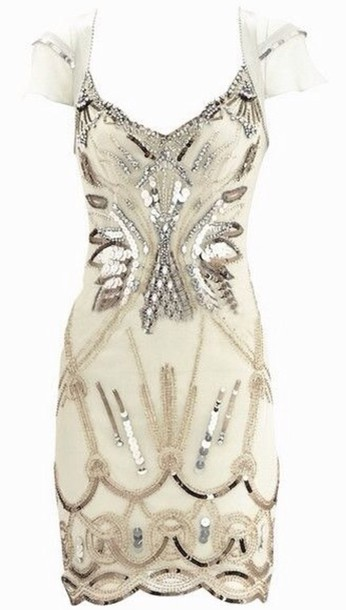 white dress homecoming dress embellished dress karen millen dress white beeds sequins formal dress rehearsal dress