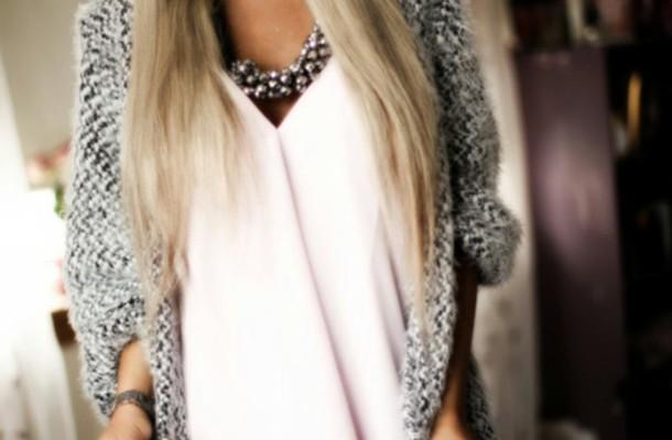 jacket lovely grey blouse jewels jewelry necklace grey necklace sweater light grey cardigan