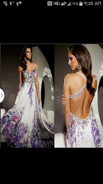 dress prom dress floral prom dress strap dress girly dress