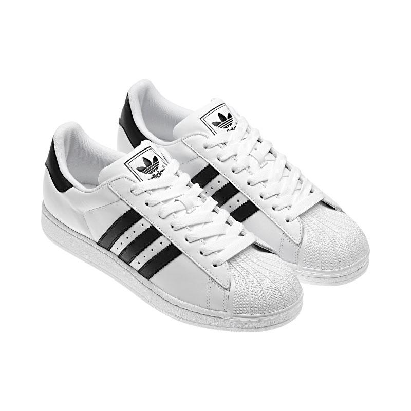 adidas originals superstar 2 black and white