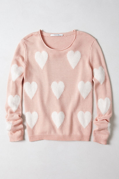 Tricot Coeur - anthropologie.com