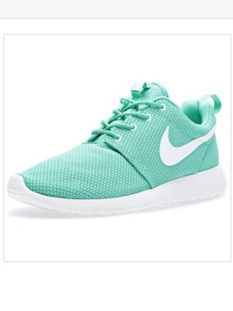 shoes mint nike