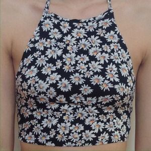 Nwt brandy melville daisy halter from sabrina's closet on poshmark
