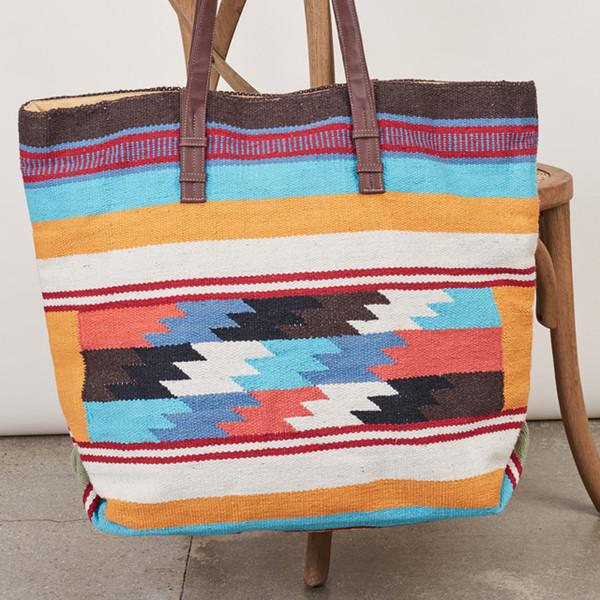 bag purse beach bag boho tribal pattern colorful bohemian hobo boho dress beautiful