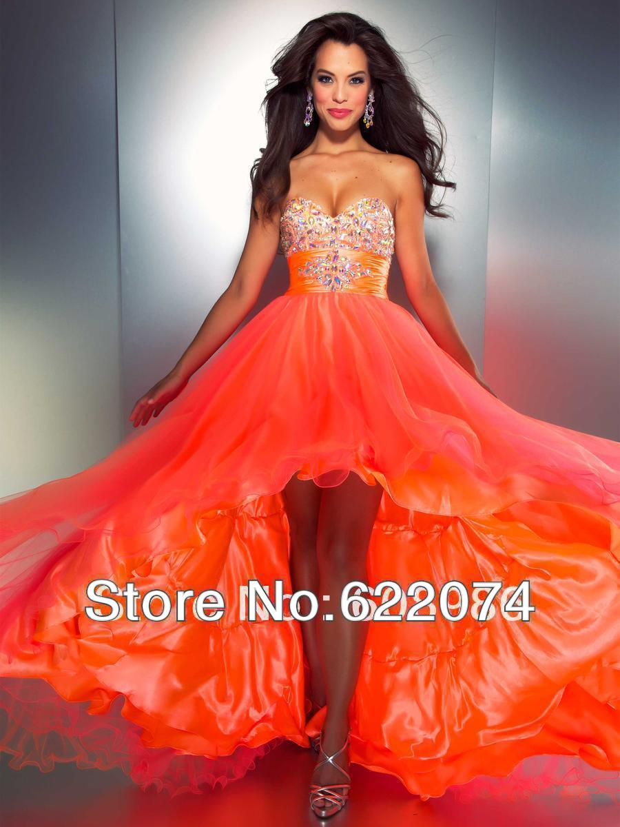 2013 2014 New Arrival beautiful Sweetheart Beaded A line Hi Low Made In China Evening Dress TT4-in Mother of the Bride Dresses from Apparel & Accessories on Aliexpress.com