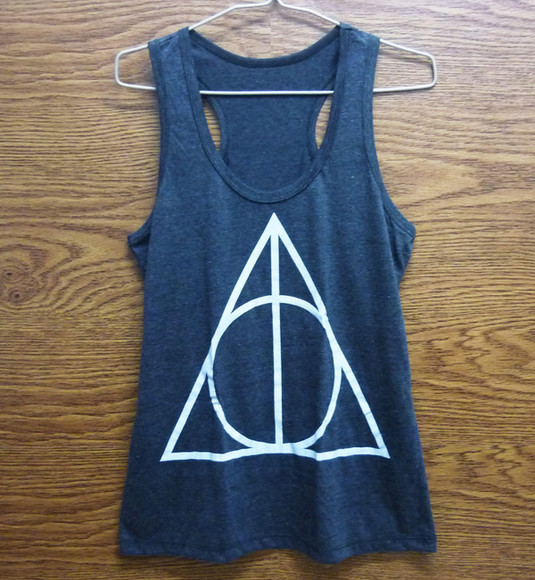 tank top singlet ้harry potter tank tops women tops