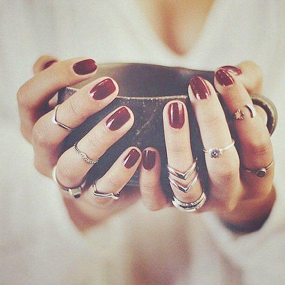 Midi Finger Rings Set