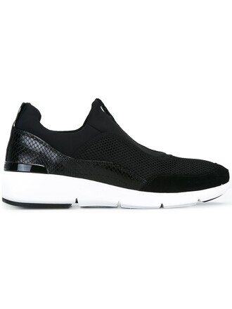 women sneakers cotton black shoes
