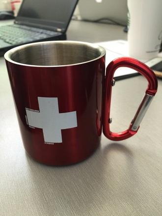 home accessory cup mug metallic