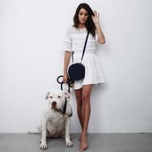 top,madewell,skirt,jewels,bag