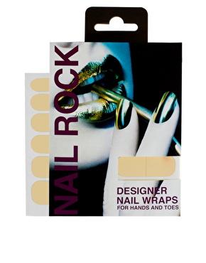 Nail Rock | Nail Rock Metallic Designer Nail Wraps at ASOS
