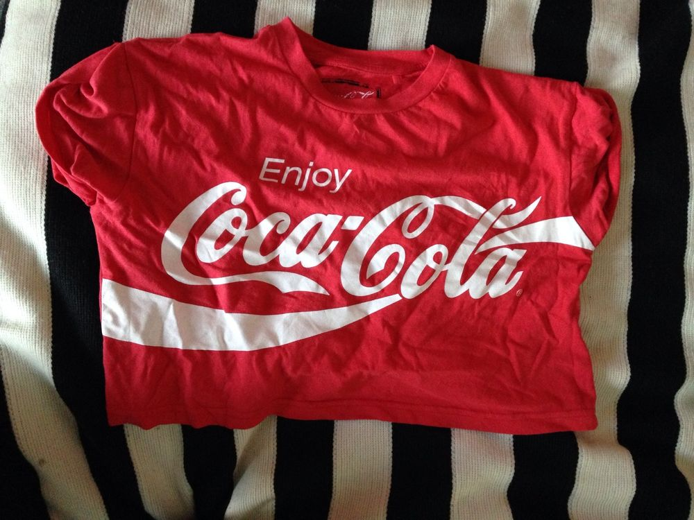 Coca Cola Crop Top | eBay