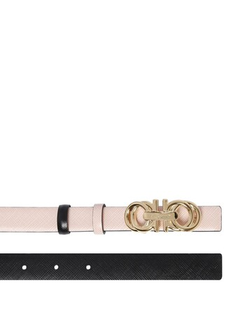 belt leather pink
