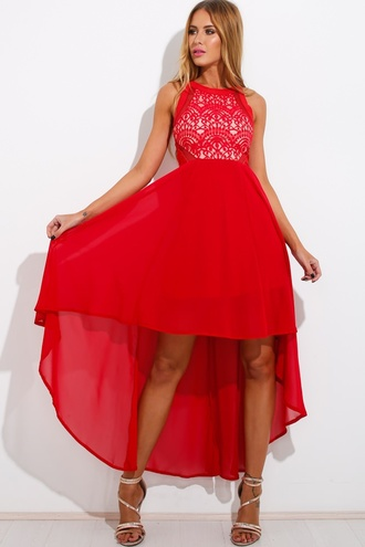 dress lace maxi