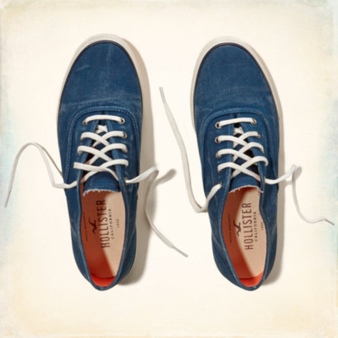 Hollister + Keds new shoe collection online