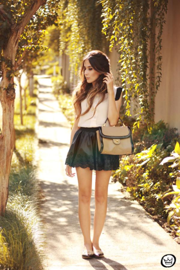 fashion coolture skirt shirt jewels bag
