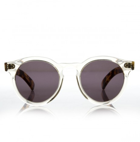 Leonard II Illesteva Clear Tortoise Sun Glasses | The Dreslyn