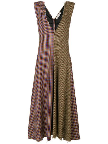 GOLDEN GOOSE DELUXE BRAND dress women cotton wool