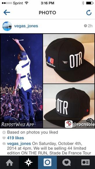 Jay Z qtr snapback hat