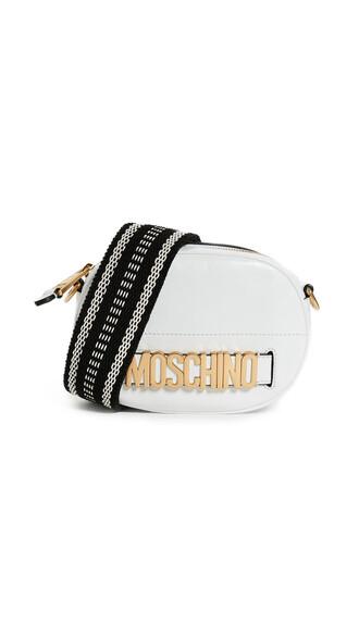 cross mini bag fantasy white print