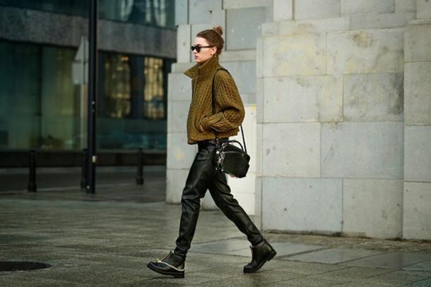madame julietta blogger jacket leather pants
