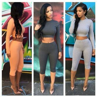 pants two-piece dope dope wishlist shirt black girls killin it curly hair leggings colorful heels streetstyle sexy the_jodiejoe