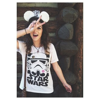 shirt star wars cute stormtrooper