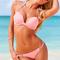 Wild beautiful victoria gather together three straps halter bikini suit on storenvy