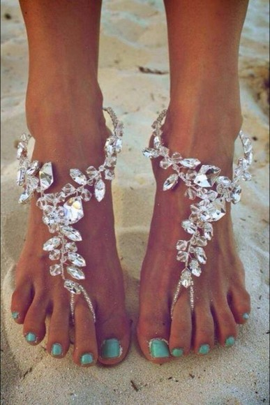 shoes crystal sandals slippers summer fashion summer shoes brown, sandals, summer, shoes, cute summer outfits cute sandals jewels crystal, stones, jewelery feet jewels ❤️