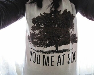 sweater you me at six group rock punk rock you me at six tree music music group pop punk pop punk rock clothes hair girl t-shirt hoodie vans warped tour