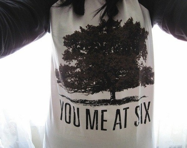 sweater you me at six group rock punk rock you me at six tree music music group pop punk clothes hair girl t-shirt hoodie vans warped tour