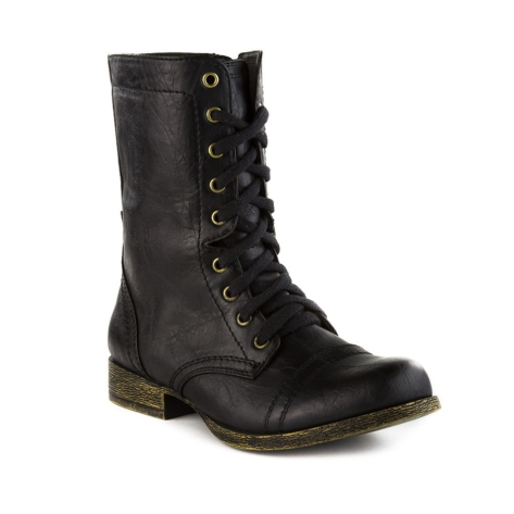 Womens madden girl trixie boot, black, at journeys shoes