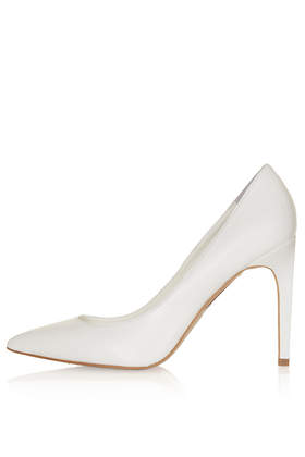 GLORY White High Court Shoes - Topshop