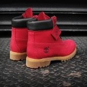 timberland boots,red ruby,red timberlands