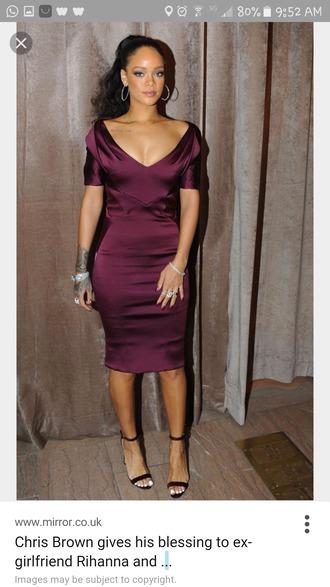 dress rihanna dress rihanna burgundy dress burgundy cocktail dress silk dress