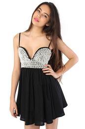 black dress,sequins,sequin dress,straps,strapless,dress,black sequin flowy