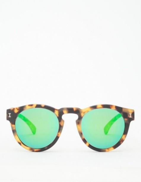 sunglasses green glasses round sunglasses summer