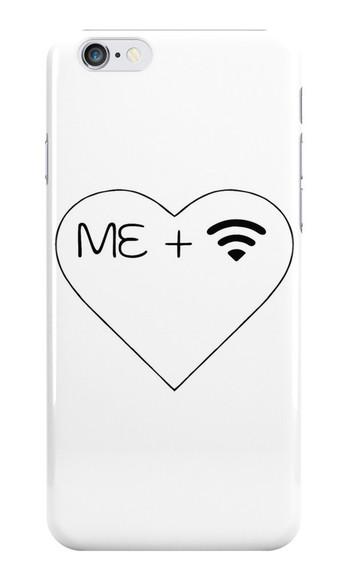 phone case iphone case wifi me me + wifi