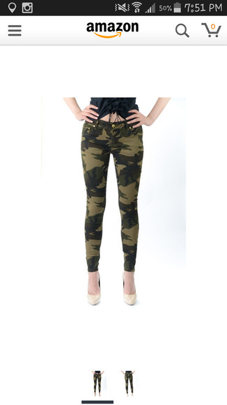 jeans camoflage