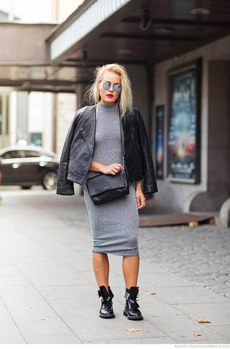 carolines mode blogger dress shoes jacket bag sunglasses