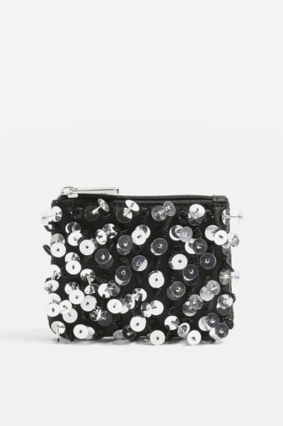 Topshop purse black bag