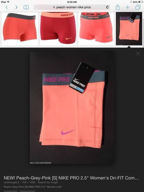 leggings peach