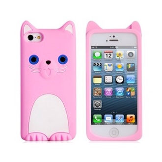 phone cover iphone iphone case pink iphone case pink cat iphone case cat case cats girly wishlist