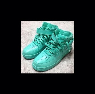 shoes green cute nike sneakers nike running shoes fashion hot