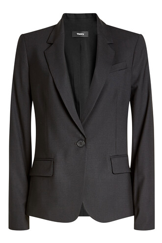 blazer wool black jacket