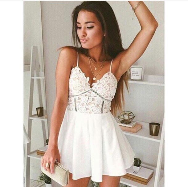 dress boho dress white dress cute dress cute short