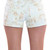 Mint Vintage Floral Shorts | Affordable Junior Clothing & Plus Sized Dresses | Shimmer