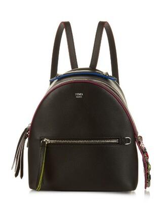 mini embellished backpack black bag