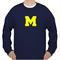 M fonts unisex sweatshirts