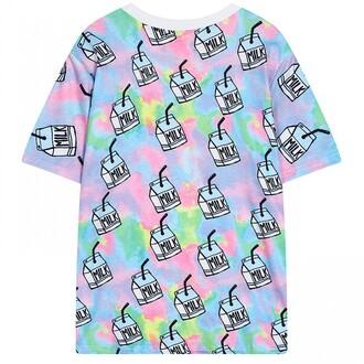dress milk rainbow fashion style pastel trendy cute teenagers boogzel